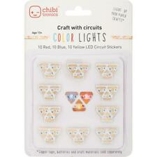 Chibitronics COLOR RYB  LED Circuit Stickers - Megapack, ***FREE SHIP***