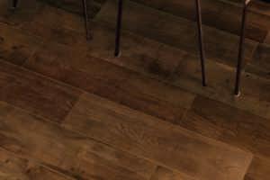 SAMPLE £16.89/m2 Brown Wood Effect Porcelain Tiles 60X20 Realistic Wood Texture