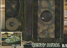 NEW RAY 1:32 CARRO BEWAFFNETE KING TIGER VON MONTIEREN MIT SCHRAUBENDREHER MOPED