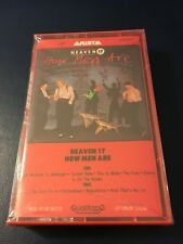 "Heaven 17 How Men Are 1984 US Cassette - NEW. sealed - Rare ""Red"" Arista Case"