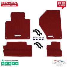 Genuine Honda S2000 Premium Red Carpet Mats (LHD)