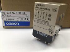 (Qty = 1) G7J-4A-P-CB-IN-DC24V  Omron, 24vdc  25A 4PST-NO, Multi-Pole Relay