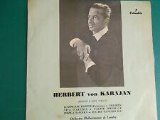 LP HERBERT VON KARAJAN JOHANN E JOSEF STRAUSS COLUMBIA 33QCX 10205  ITALY
