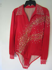 Boy's Figure Skating Competition Top, size 10-12