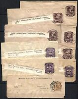 AUSTRIA Wrapper Postage Collection Stamps  1912-1918 USED