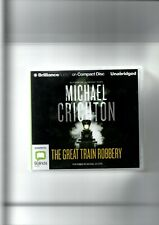 Audio Compact Disc The Great Train Robbery by Michael Crichton
