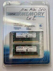 ORIGINAL MAC 16GB (2x8GB )- CRUCIAL DDR3L - 1600 SODIMM - MAC - CT2C8G3S160BMCEU