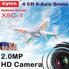 Syma X5C-1 2.4GHz 4CH 6-Axis Gyro RC Quadcopter Drone Explorers RTF HD Camera