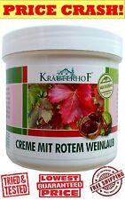 KRAUTERHOF Foot Cream for Varicose Veins -Horse Chestnut & Red Vine leaves 250ML
