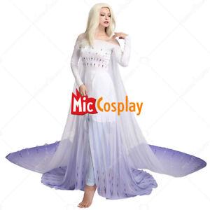 Exclusive Elsa Cosplay Costume Dress Gown