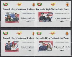 Z458. Burundi - MNH - Famous People - Royal Family - Deluxe - Imperf