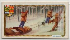 Hudson Bay Canada Fur Trappers Beaver Otter Pelt  c90 Y/O Ad Trade Card