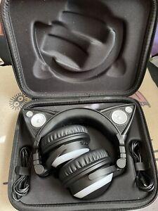 Brookstone Axentwear Cat headphones Multicolored LED Light