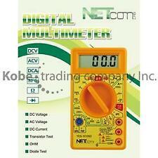 TES-10105 DIGITAL MULTIMETER WITH BUZER TRANSISTOR TESTER