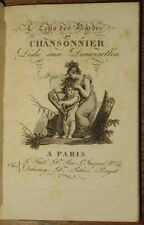1817, CHANSONS & MUSIQUE, 6 GRAV, L'écho des bardes, ou Chansonnier dédié...LA19