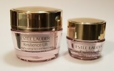 Estee Lauder Resilience Lift Firming Day Cream For Face SPF15 & Eyes ~Set Of Two