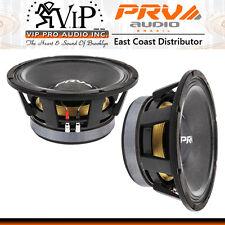 PRV Audio 12MR2000 Pro Midrange Midbass 2000W 8-Ohm Sub-Woofer Speaker (PAIR)