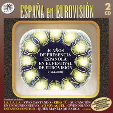 40 AÑOS DE PRESENCIA DE ESPAÑA EN EUROVISION VARIOS -2CD