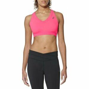 Asics Women's Sports Bra Race Bra - Pink - New