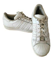 Adidas Men's Originals Superstar Trainers White UK 5.5 EU 38.6 Worn