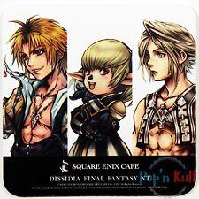 Dissidia Final Fantasy NT Tidus Shantotto Vann Coaster Square Enix Cafe VGC