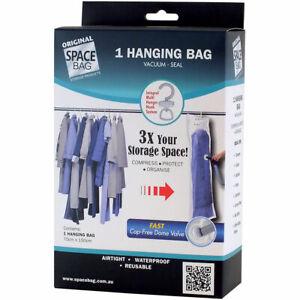 Space Bag Genuine Vacuum Seal Hanging Dress / Suit Sized Bag Airtight USB57014