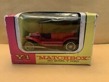 Matchbox Models of Yesteryear Y-1 1911 Ford Model T in Original Box