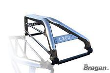 Per adattarsi 2015+ MITSUBISHI L200 Sport Roll bar + LUCI LED x2 + LED Luce dei Freni x1