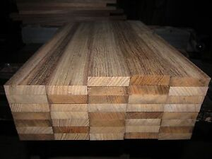 Exotic Wood Premium Marine Teak Lumber  ~  2 inches X 14 inches X 3/4 inch  NICE
