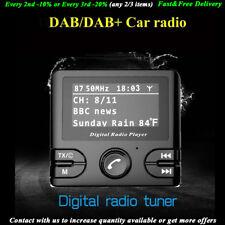 Transmisores FM Receptor DAB DAB+ Bluetooth Estéreo GPS Manos libres Coche Radio