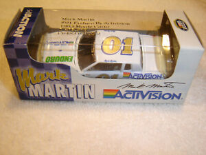 #01 Mark Martin 1983 ENDURO BY ACTIVISION 1/64 Action RCCA H/O Diecast NEW