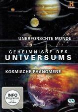 DVD - Geheimnisse des Universums - Unerforschte Monde / Kosmische Phänomene