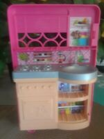 2008 Mattel Barbie Doll House Furniture Pink  Kitchen