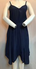 BRAND NEW GAP Pretty Spaghetti Strap Navy Blue Dress Summer Ideal. Gap Size 2.