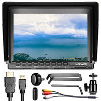Neewer NW759(C) 7 inches 1280x800 IPS Screen Camera Field Monitor for Sony Canon