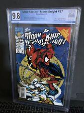 MARC SPECTOR: MOON KNIGHT #57- Graded 9.8  Amazing Spider Man 300 301 homage