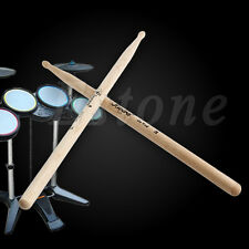 1 Pair 7A Practical Maple Wood Drum Sticks Drumsticks Music Band Accessories New