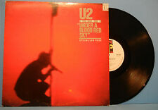 U2 LIVE UNDER A BLOOD RED SKY MINI LP 1983 ORIGINAL GREAT CONDITION! VG+/VG+!!B