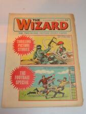 WIZARD #38 DC THOMSON BRITISH WEEKLY OCTOBER 31ST 1970^