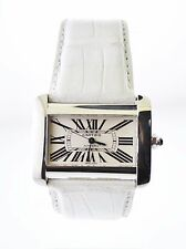 Cartier Tank Divan 2612 Automatic Wristwatch Water Resistant SS $10K VALUE