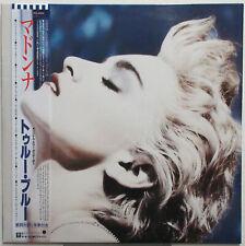MADONNA True Blue 1986 JAPAN ORG PROMO LP + Poster MINTY!
