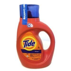 Tide Turbo Clean Original Scent Liquid Laundry Detergent 37 FL 0Z 25 Loads