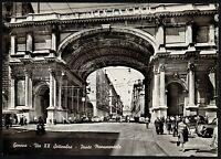 AD1014 Genova - Città - Via XX Settembre - Ponte Monumentale - Animata