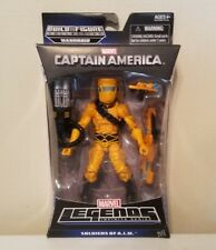 HASBRO MARVEL LEGEND MANDROID B.A.F SERIES A.I.M SOLDIER W/WEAPONS & MANDROD ARM