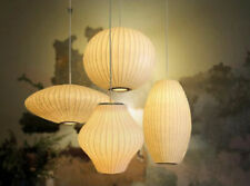 Mid Century Classic George Nelson Bubble Lamp Ball Saucer Cigar Fabric replica