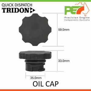 New * TRIDON * Oil Cap For Holden Colorado Commodore - V6 RC VN-Series I