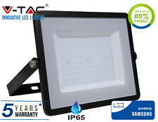 LED Floodlight 200W SMD IP65 w/ Samsung LED Cool White 6400K Black