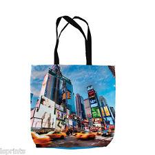 NEW YORK CITY RUSH HOUR DESIGN TOTE BAG SHOPPING BEACH SCHOOL ACCESSORY GIFT