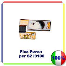 FLAT FLEX CAVO TASTO ACCENSIONE POWER BUTTON ON/OFF PER SAMSUNG GALAXY S2 i9100