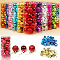 30mm Christmas Tree Ball Bauble Hanging Ornament Xmas Party Wedding Home Decor